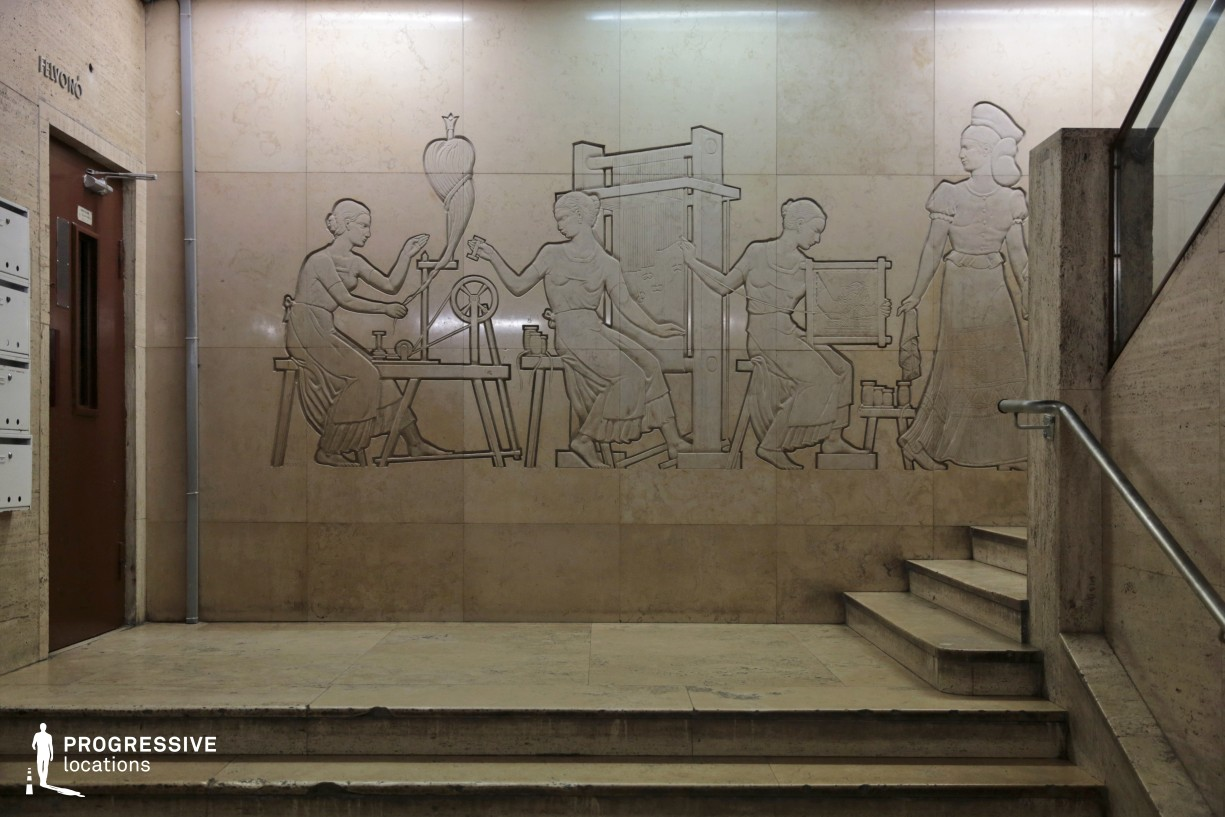 Locations in Budapest: Soviet Style Relief