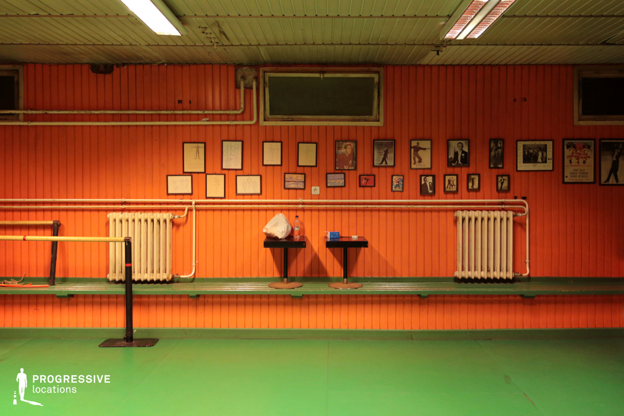 Locations in Budapest: Training Room