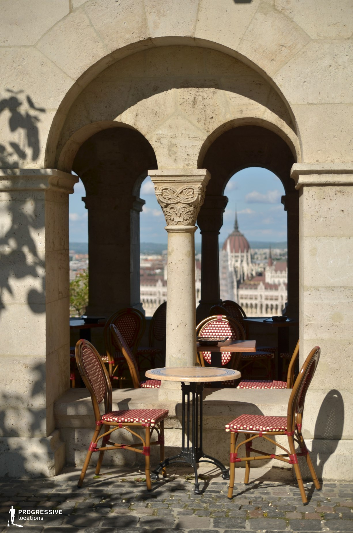 Locations in Budapest: Fishermans Bastion Cafe