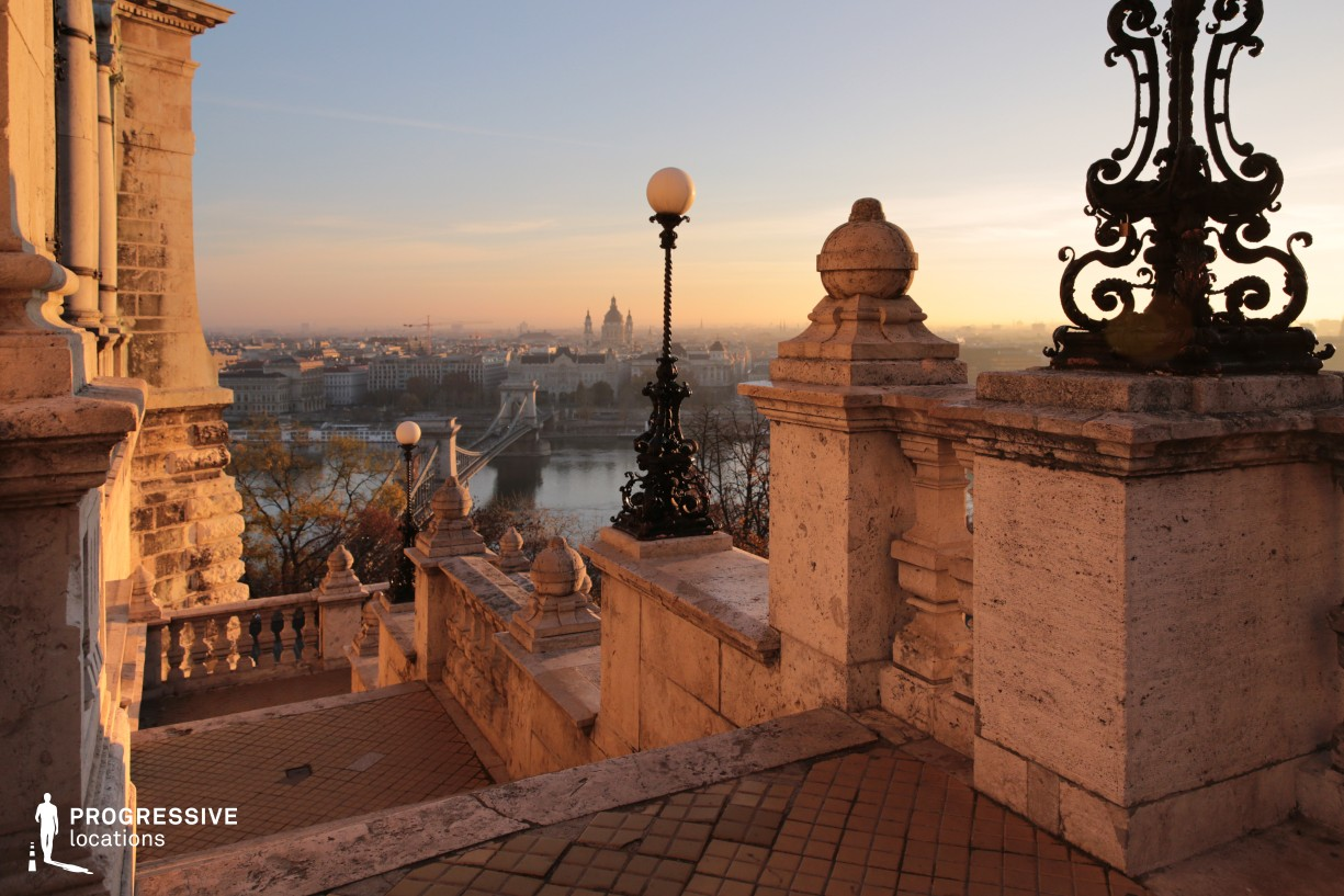 Locations in Budapest: Stairs, Buda Castle