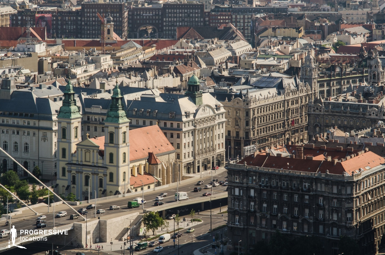 Locations in Budapest: City Panorma Estabilishing