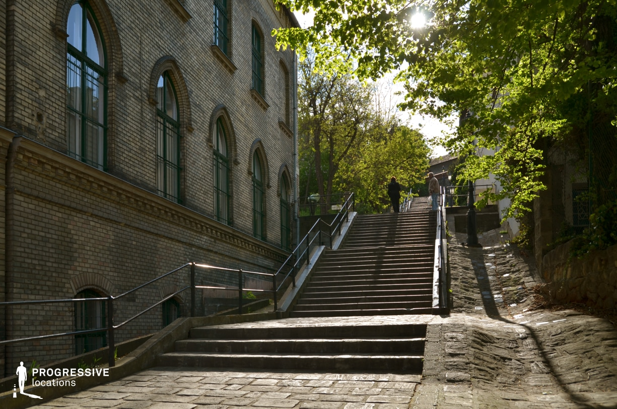 Locations in Budapest: Franklin Steps