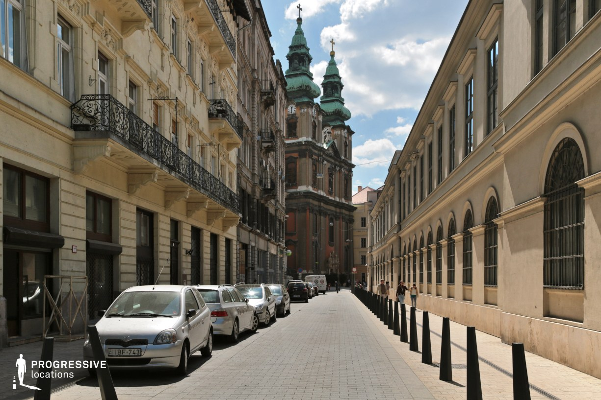 Locations in Budapest: Henszlmann Street %26 Church