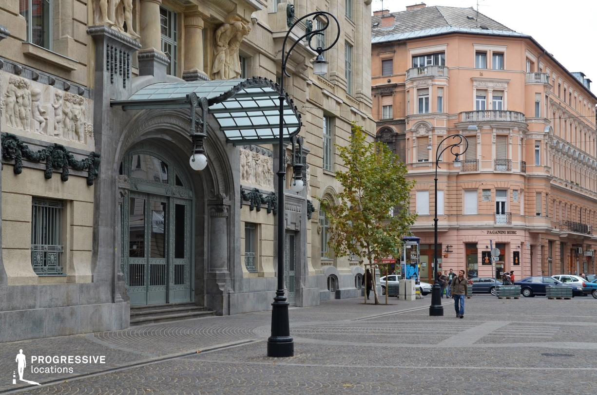 Locations in Budapest: Liszt Square, Academy of Music