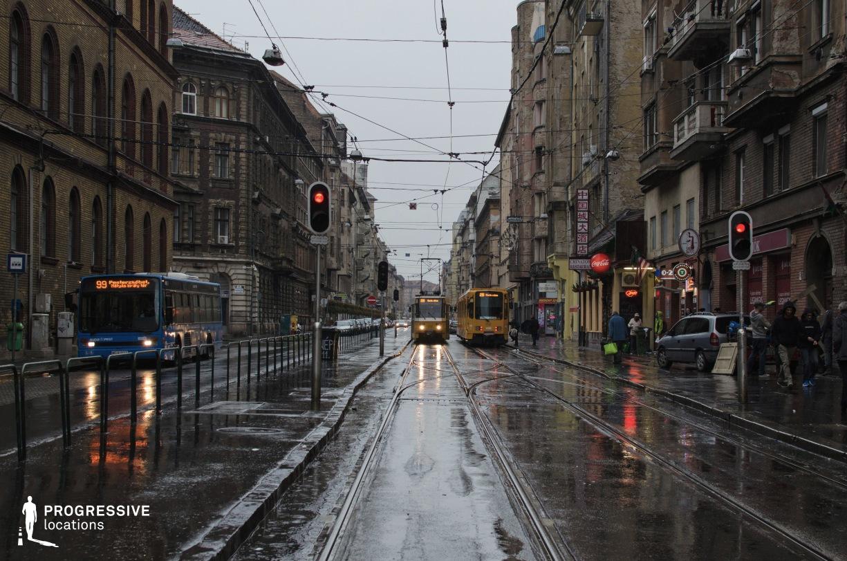 Locations in Budapest: Nepszinhaz Street
