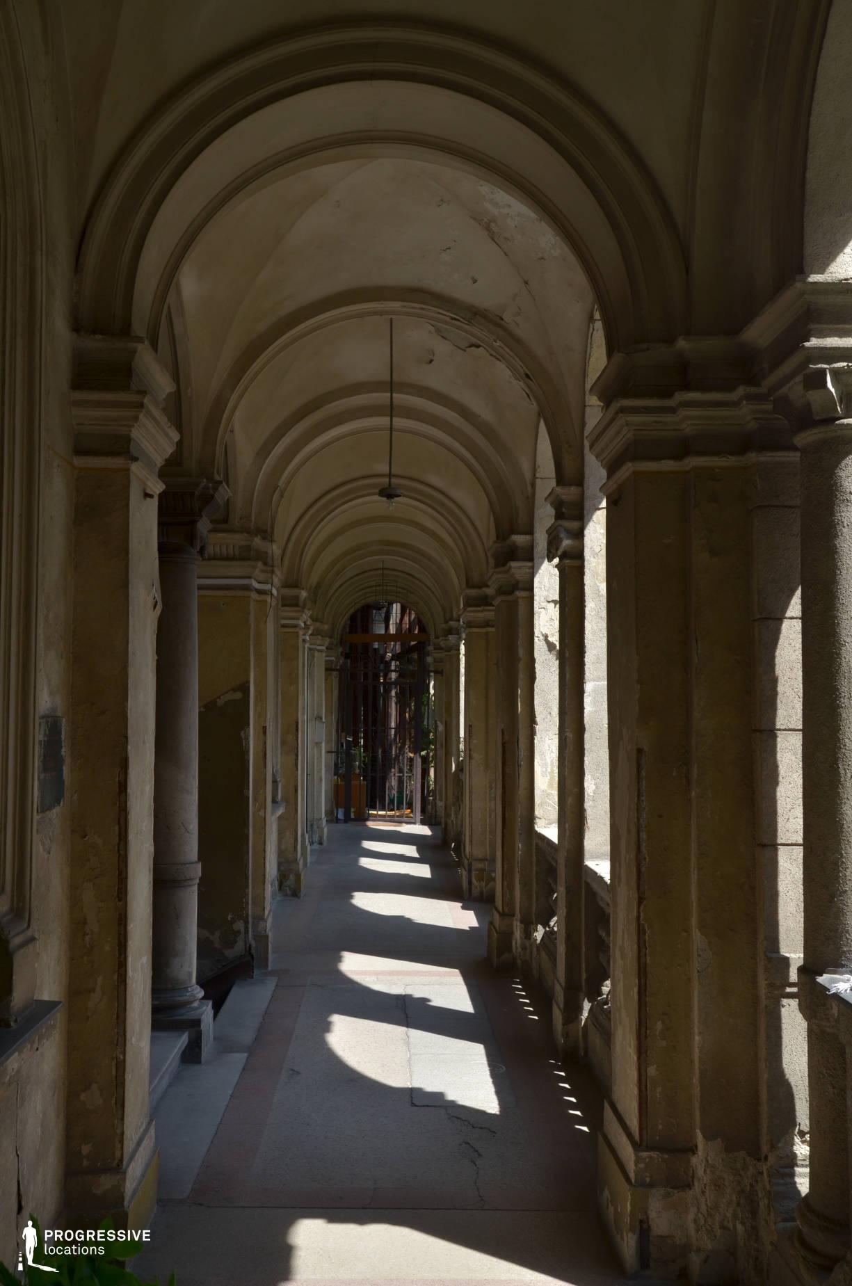 Locations in Budapest: Andrassy Street Arcade