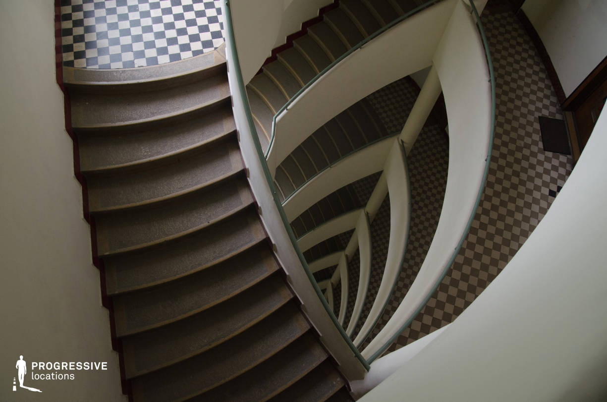 Locations in Budapest: Art Deco Staircase