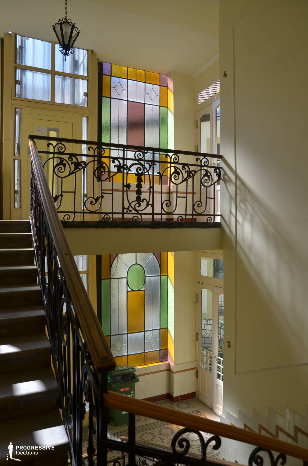 Locations in Budapest: Colorful Glass, Suto Street