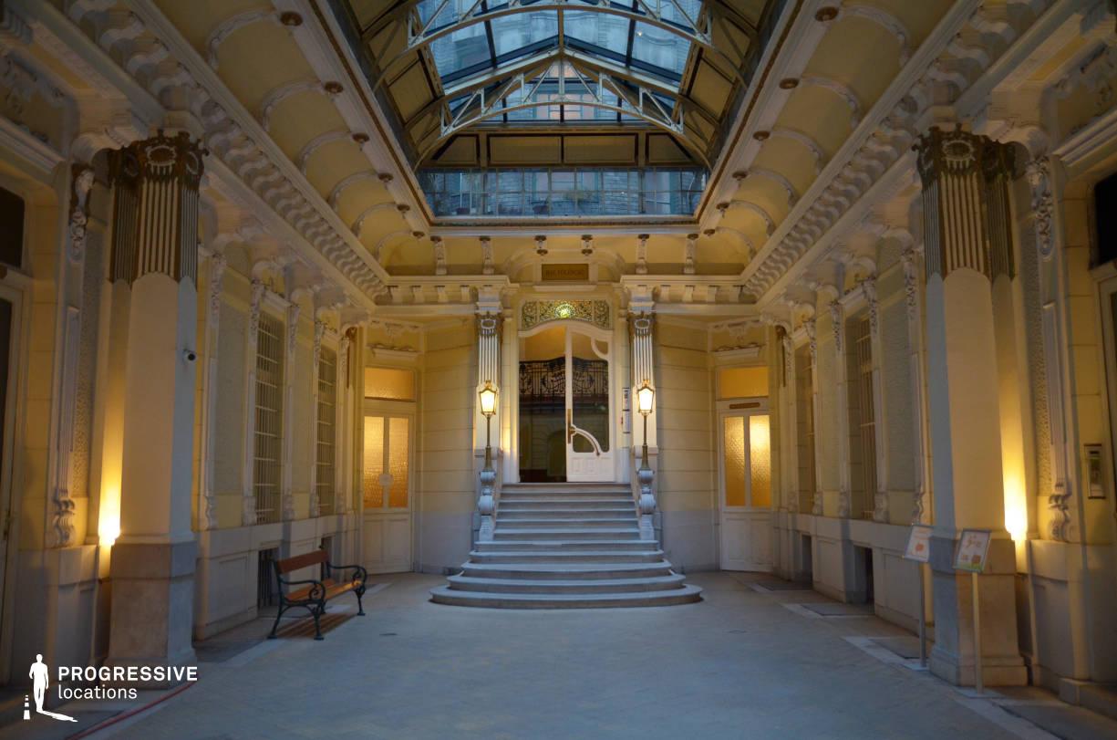 Entrance Hall, Glass Ceiling, Ferenciek