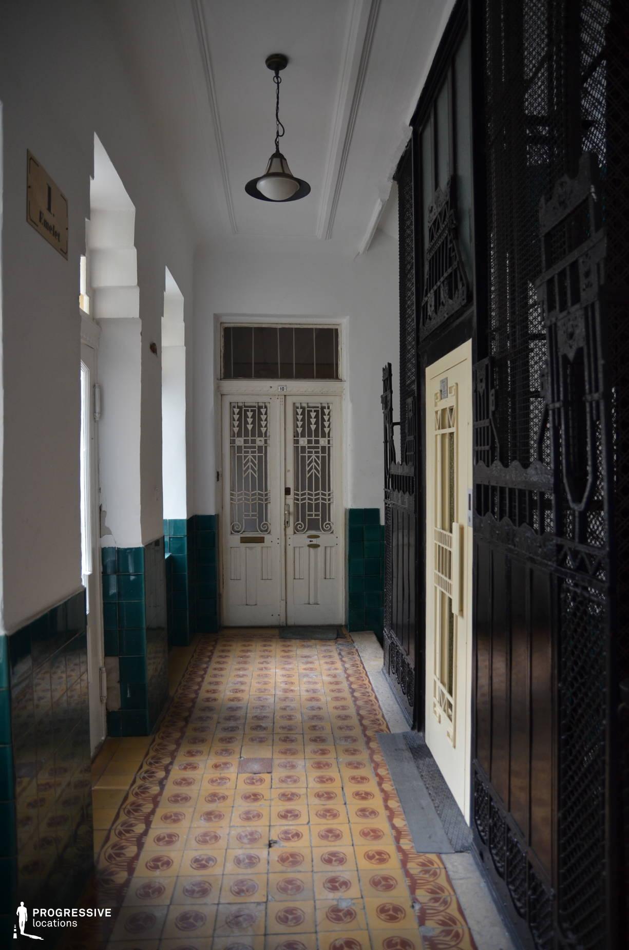Locations in Budapest: Stairwell, Oktober Street