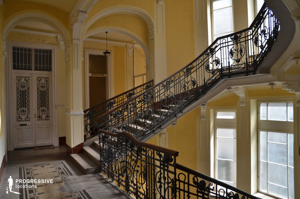Locations in Budapest: Romantic Staircase