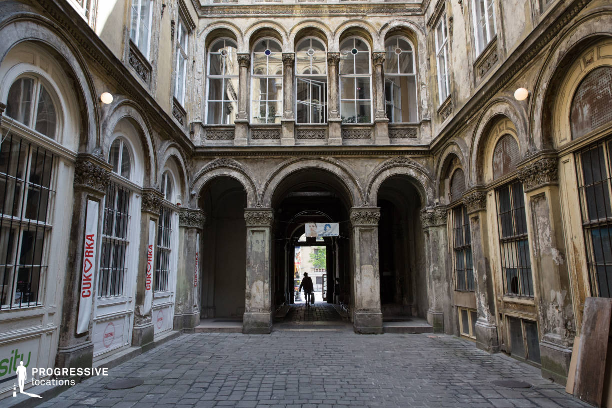 Locations in Budapest: Unger Court