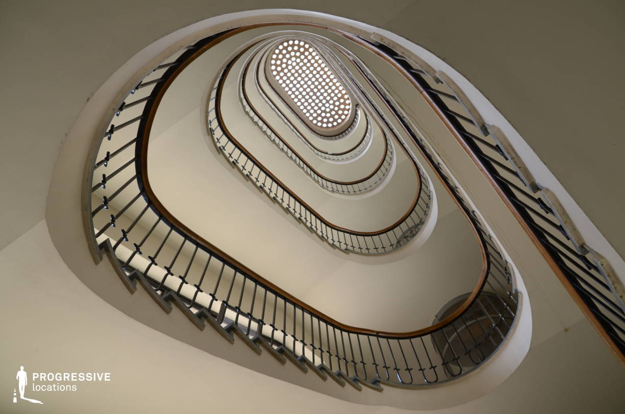 Locations in Budapest: Winding Staircase