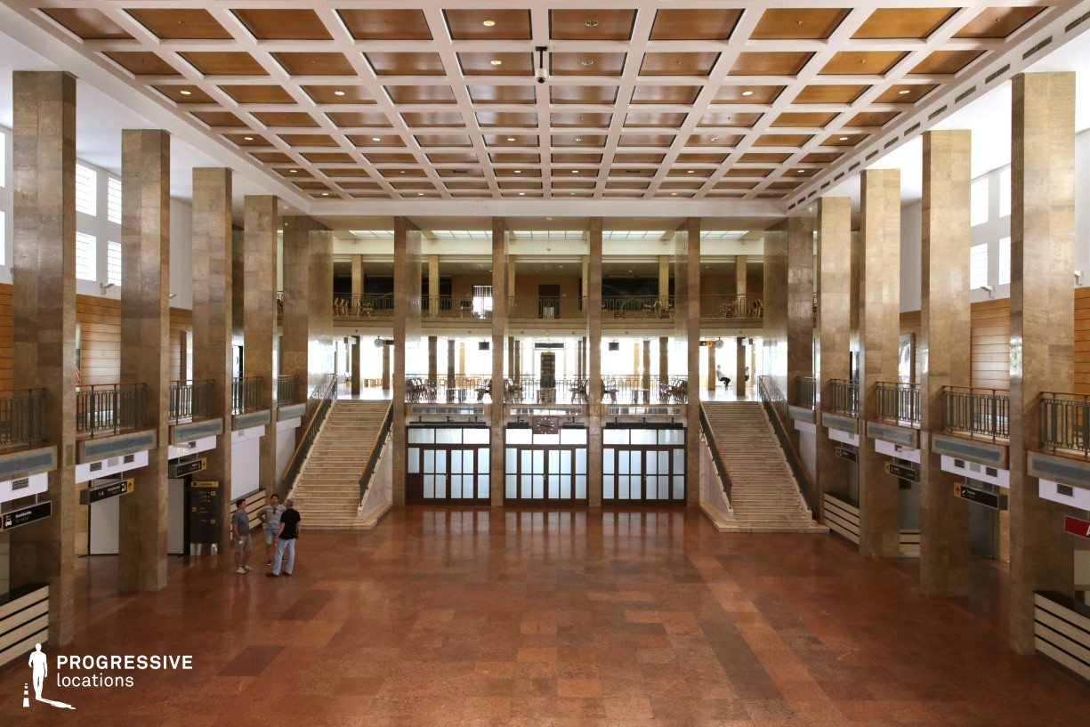 Locations in Budapest: Main Hall, Budapest Airport Terminal 1