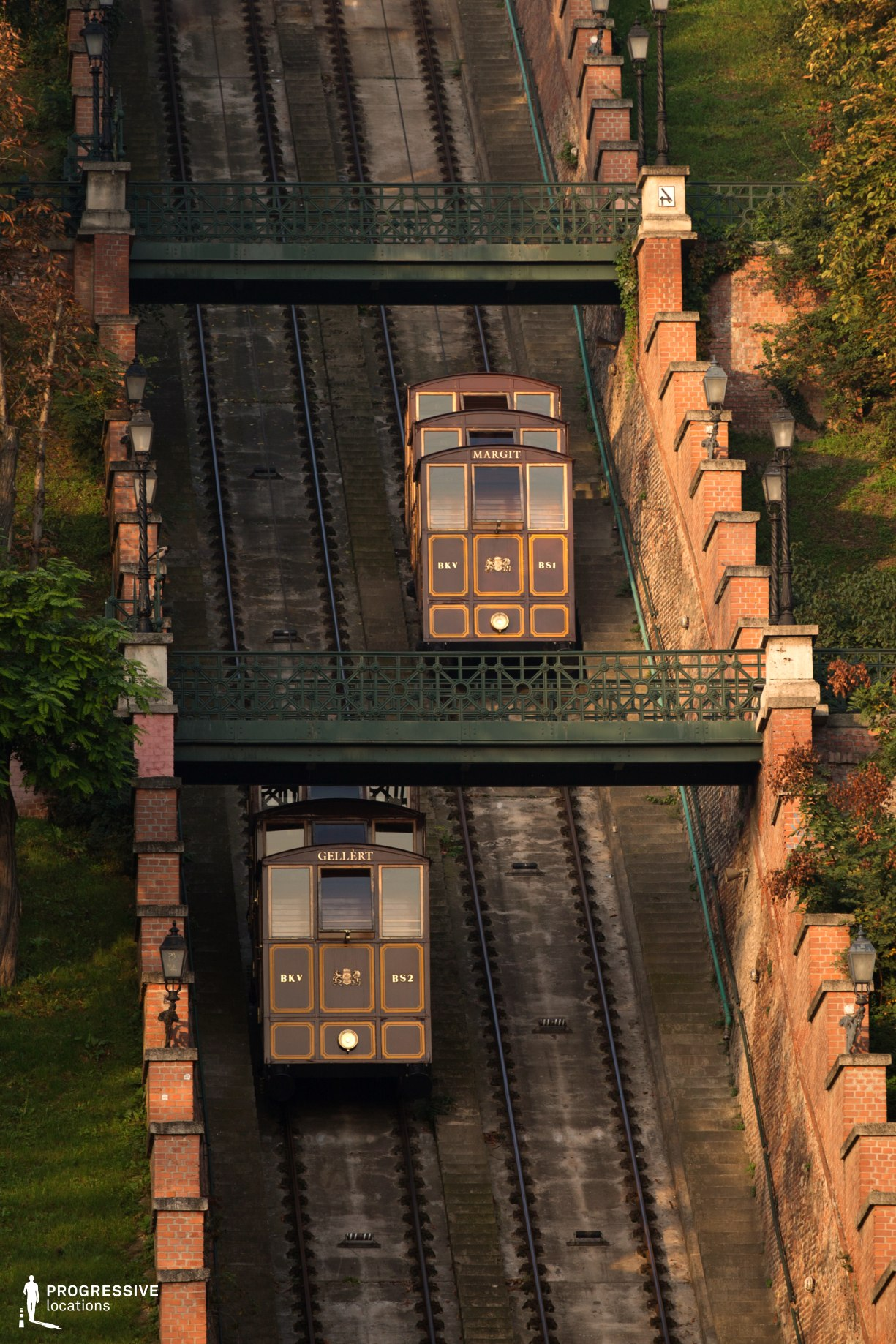 Locations in Budapest: Funicular, Buda Castle Hill