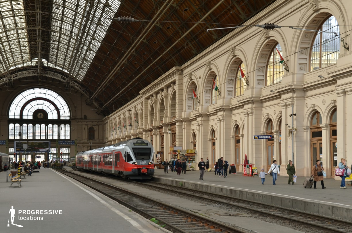 Locations in Budapest: Keleti Railway Station, Platform