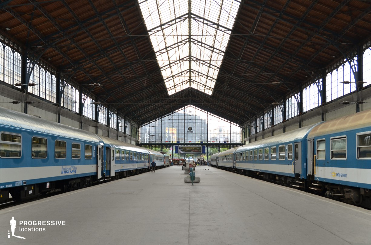 Locations in Budapest: Nyugati Railway Station
