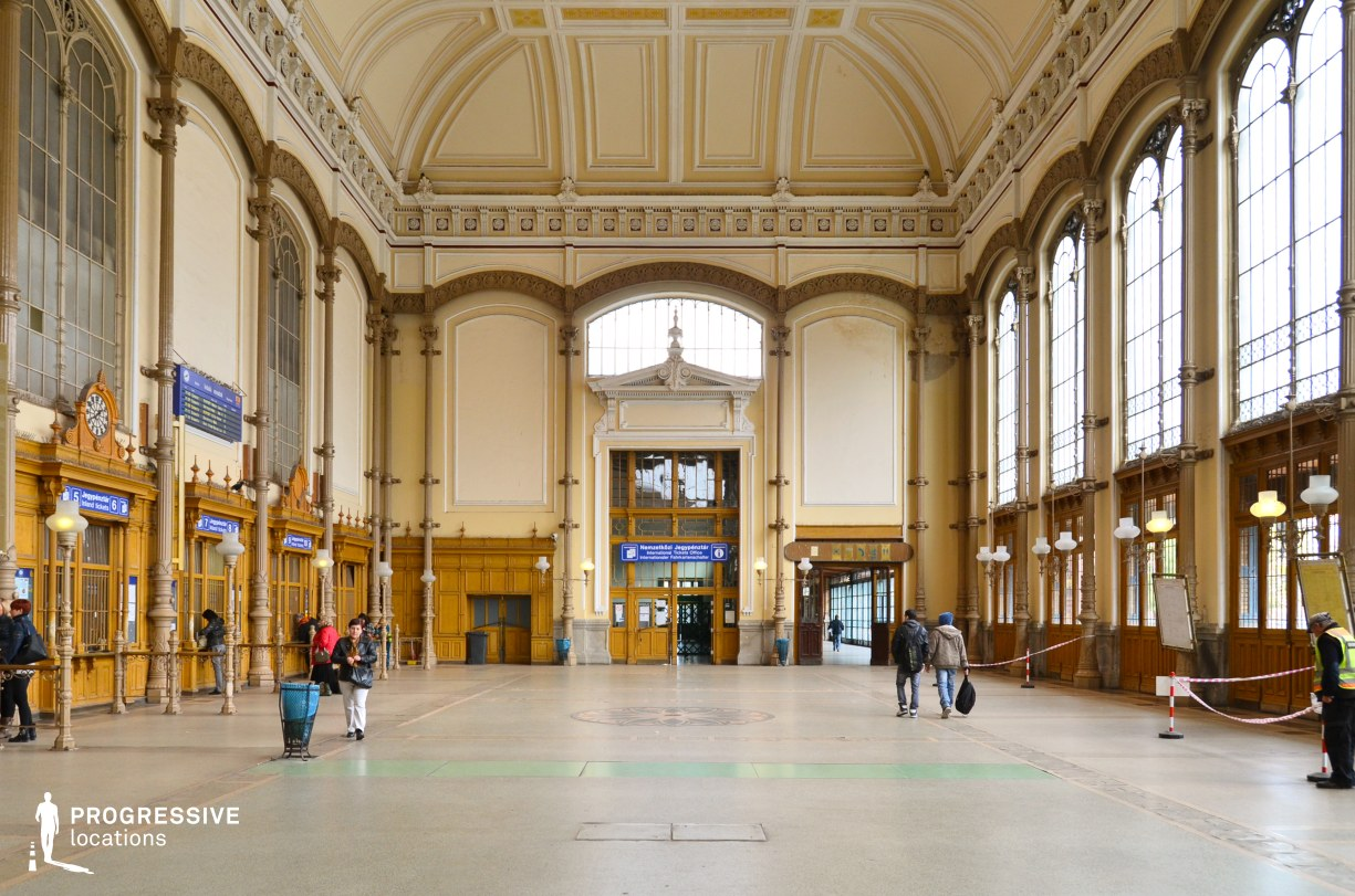 Locations in Budapest: Ticket Counter Hall, Nyugati
