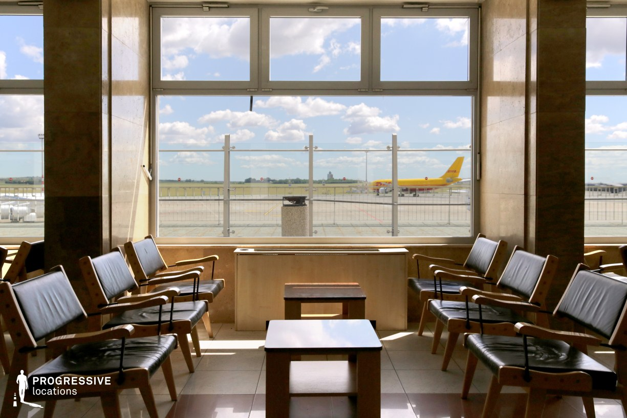 Locations in Budapest: Terminal Lounge, Budapest Airport