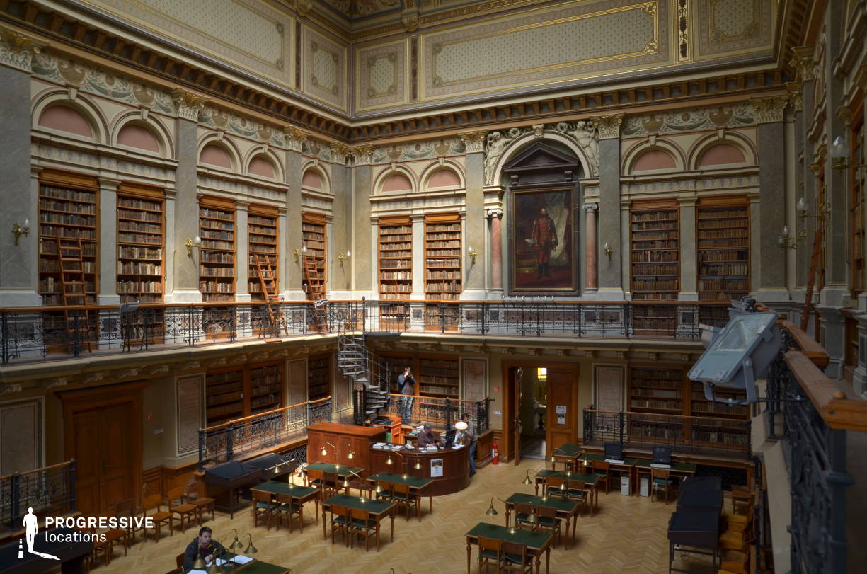 Locations in Hungary: Baroque University Library Hall