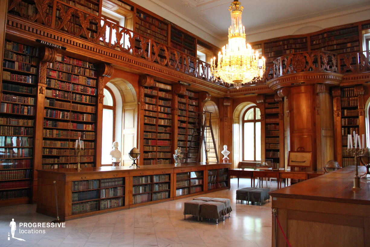 Locations in Hungary: Library, Festetics Palace