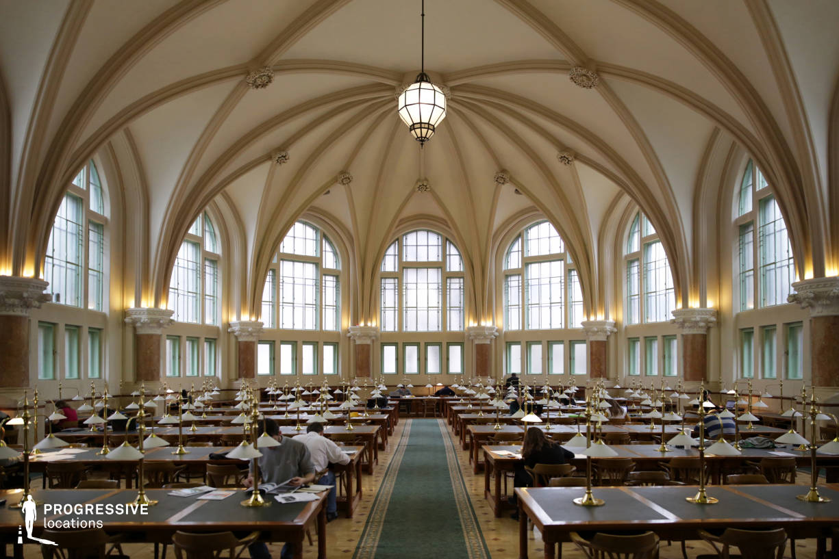 Locations in Hungary: Gothic University Library Hall