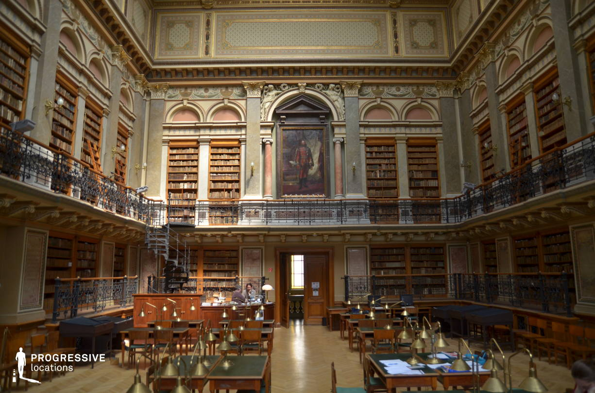 Locations in Hungary: University Library, Main Hall