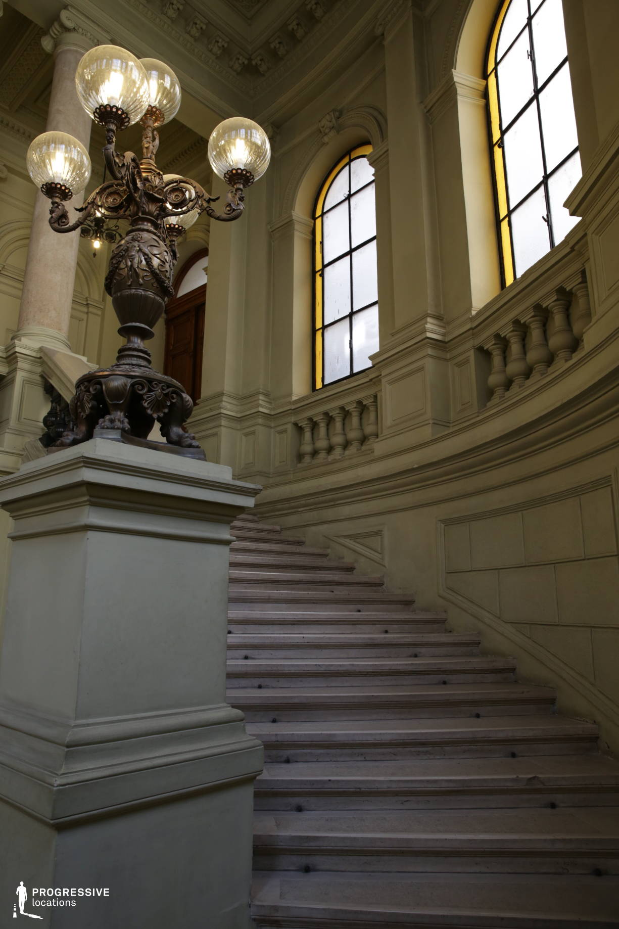 Locations in Hungary: University Library, Staircase