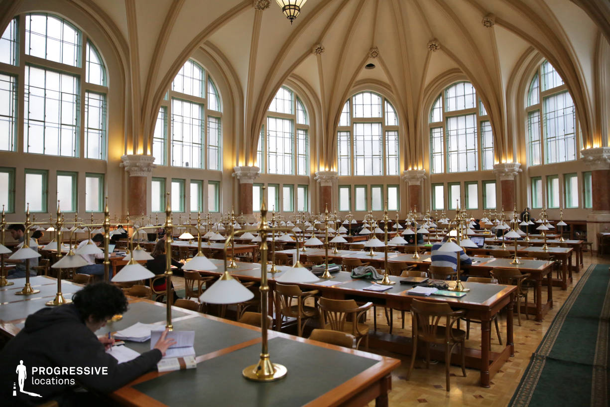 Locations in Hungary: Library Arcades, University Of Technology