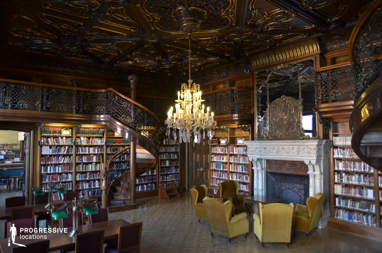 Locations in Hungary: Wenckheim Palace Library