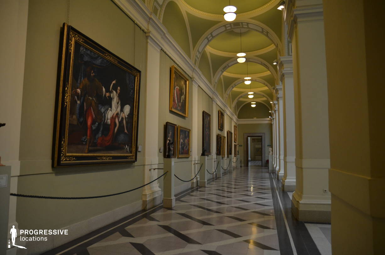 Locations in Hungary: Museum Of Fine Arts, Gallery, Arcade