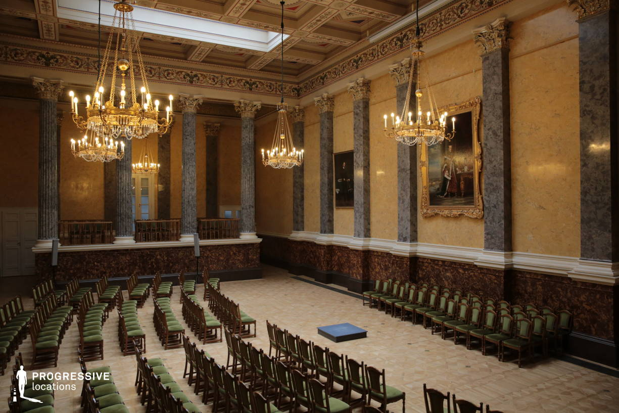 Locations in Hungary: Assembly Hall, National Museum