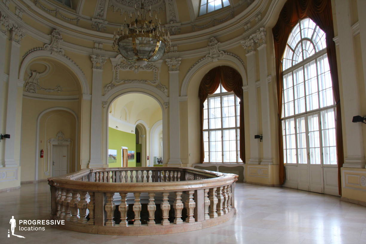 Locations in Hungary: Baroque Aula, Agricultre Museum