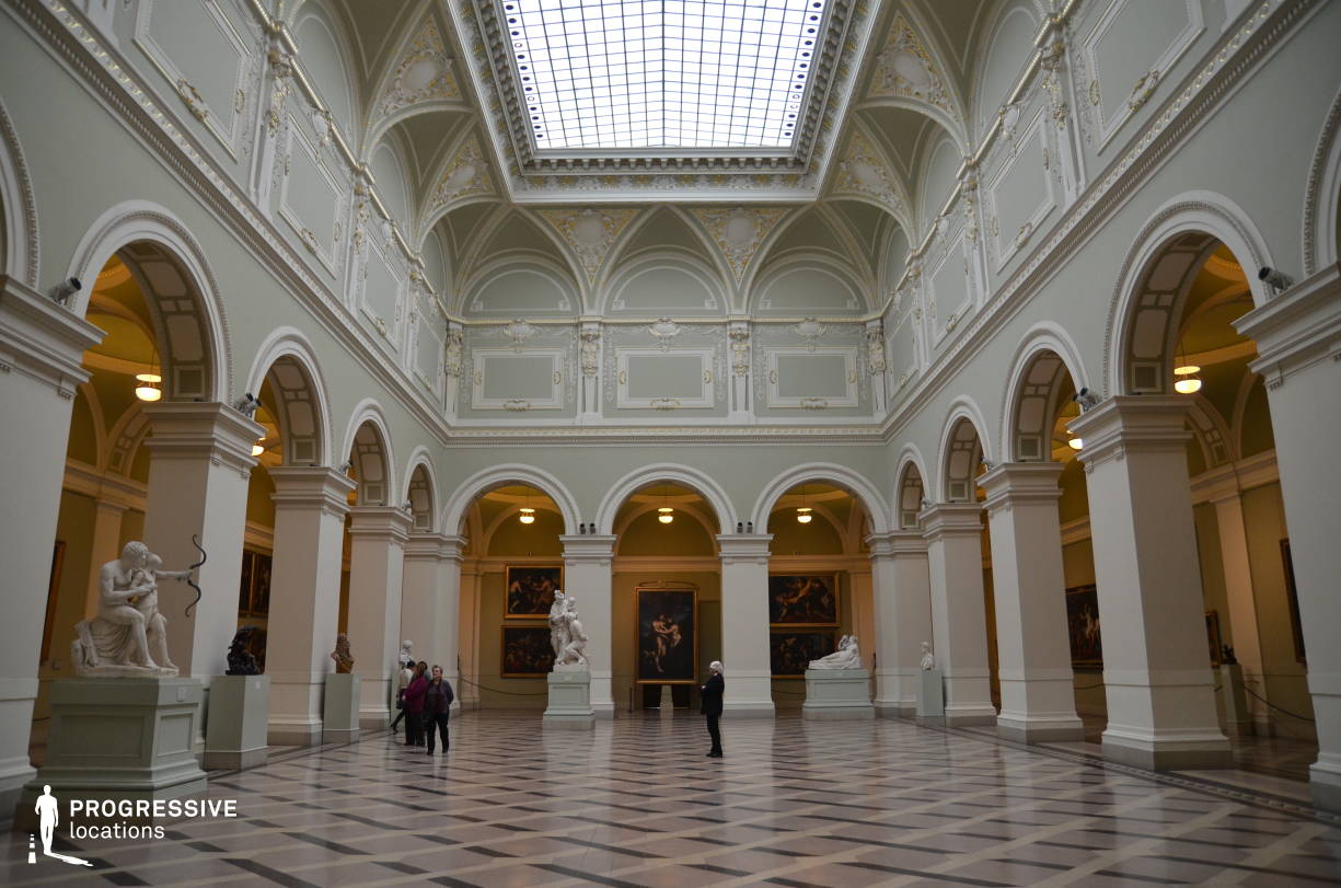 Locations in Hungary: Baroque Hall, Museum Of Fine Arts