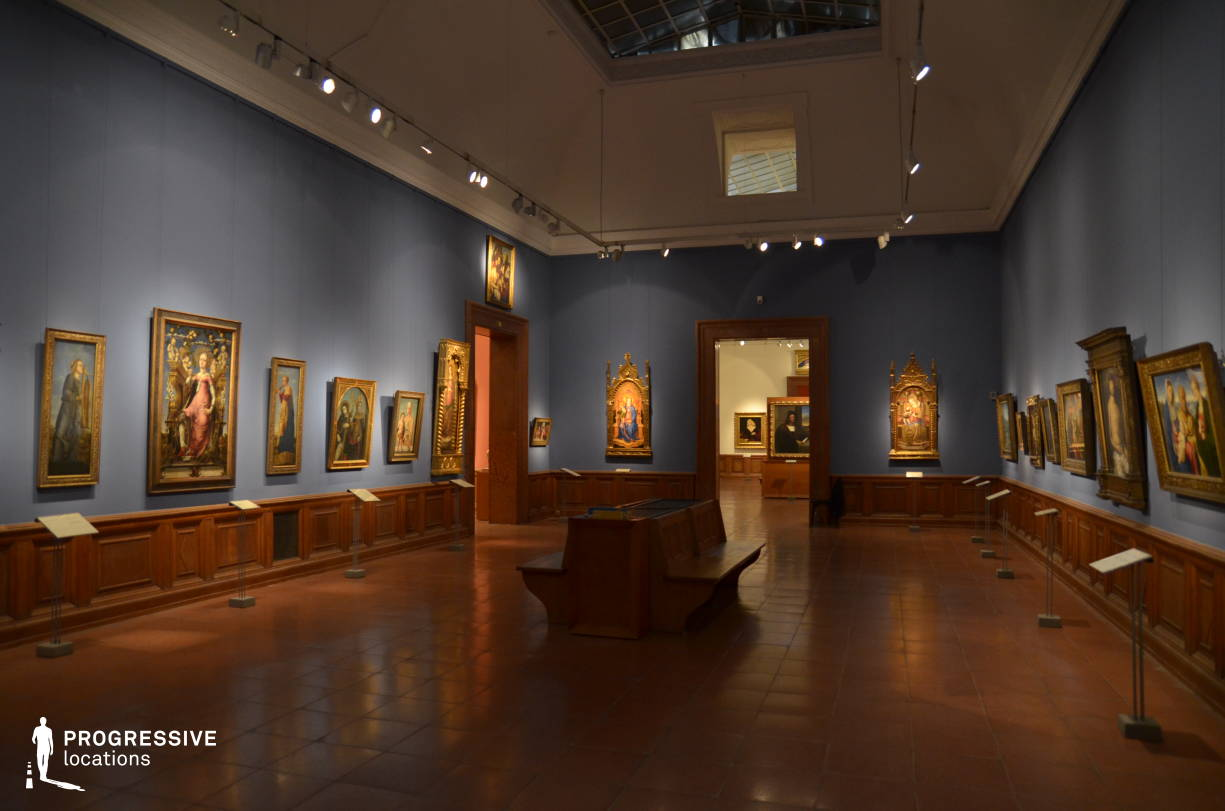 Locations in Hungary: Exhibition Space, Museum Of Fine Arts