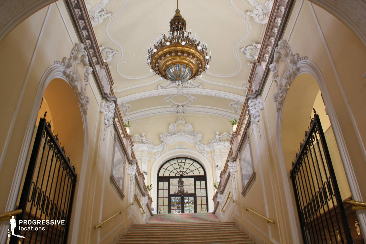 Locations in Hungary: Main Staircase, Agriculture Museum