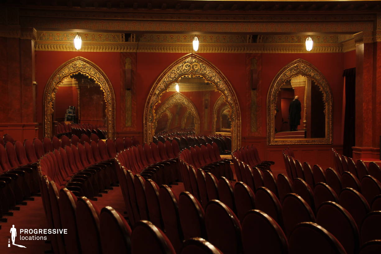 Locations in Hungary: Urania Theater, Auditorium %26 Mirrors