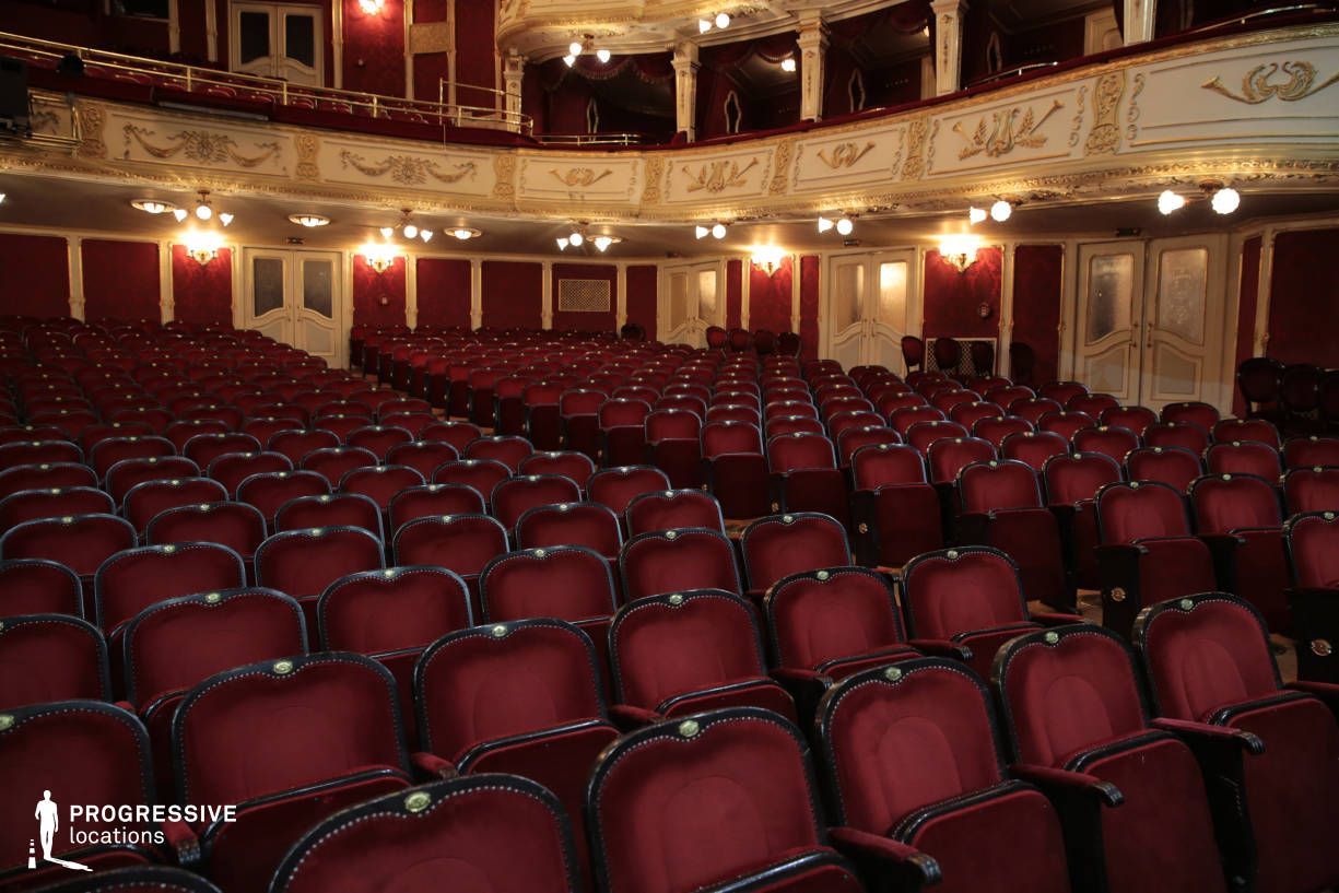 Locations in Hungary: Seats, Vig Theater