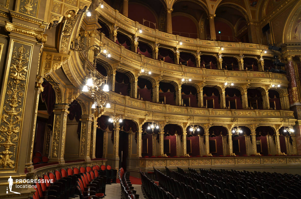 Locations in Hungary: Boxes, Opera House