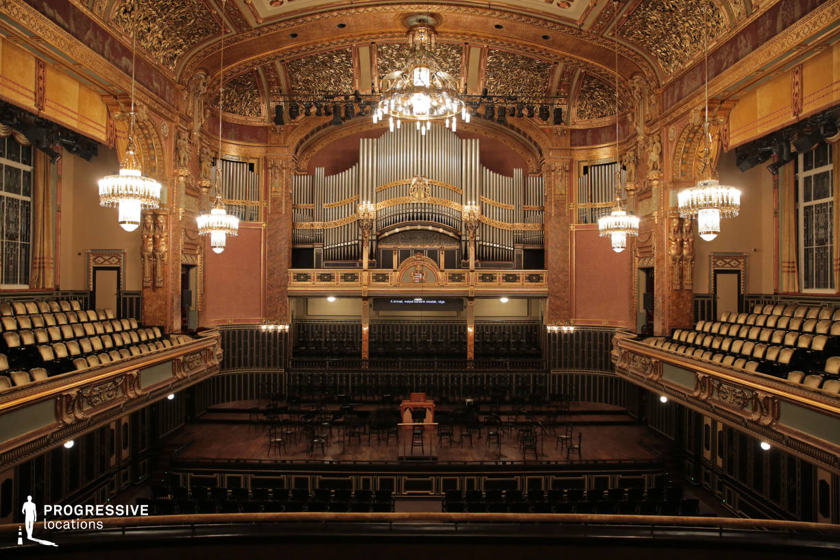Locations in Hungary: Concert Hall, Liszt Academy
