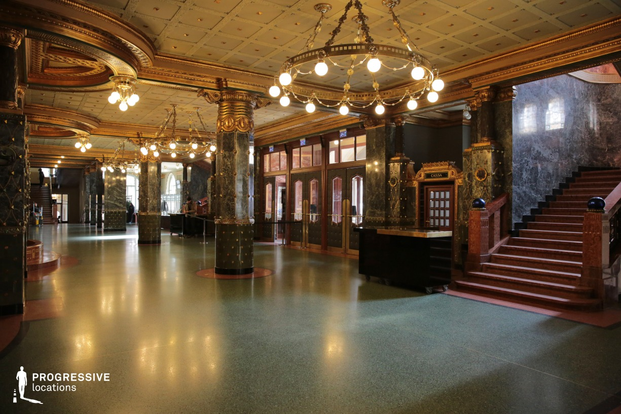 Locations in Hungary: Entrance Hall, Liszt Academy