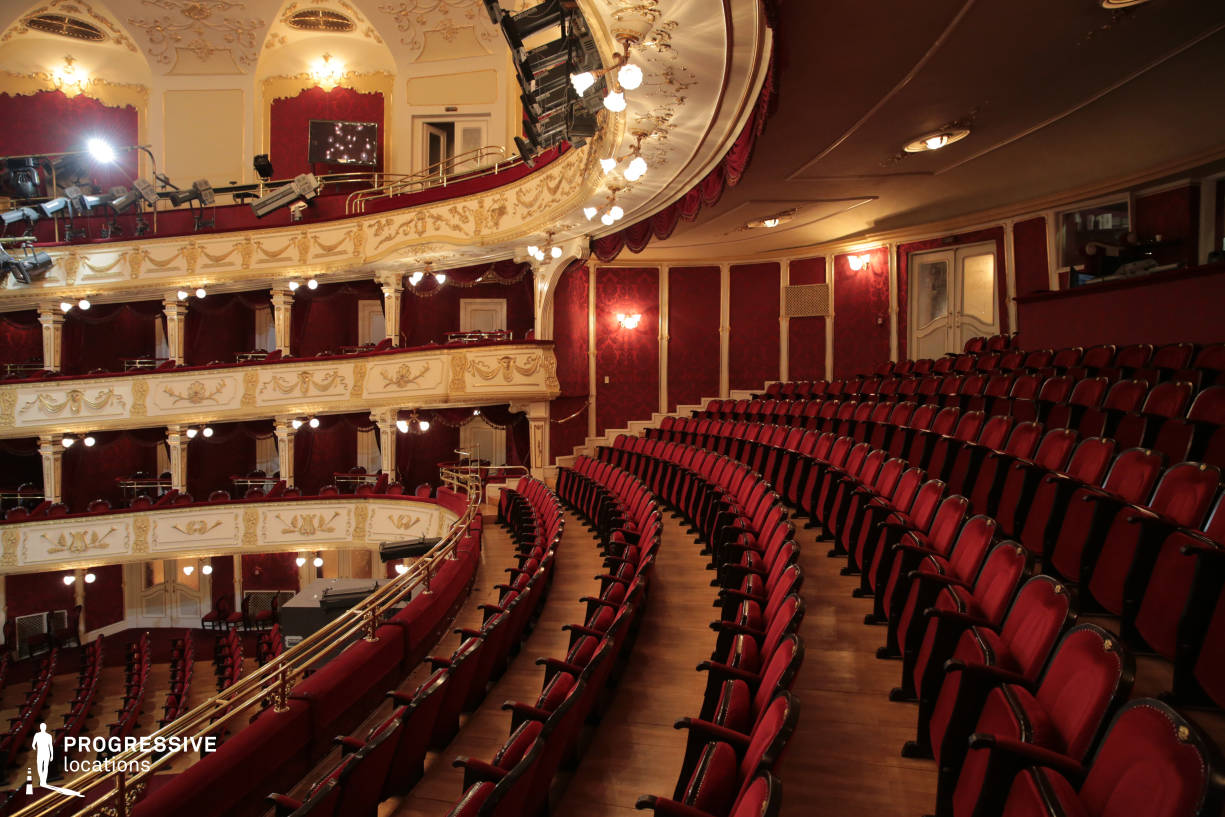 Locations in Hungary: First Floor Balcony, Vig Theater