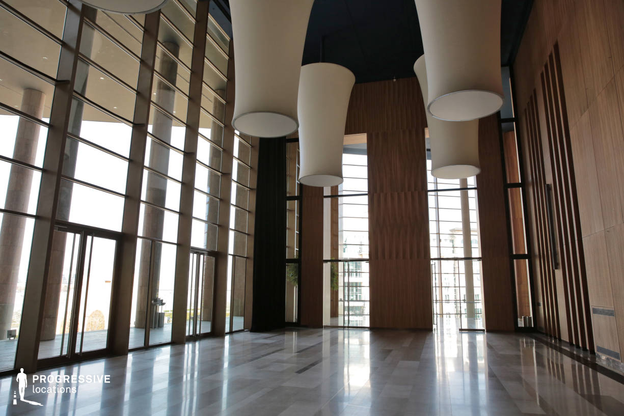 Locations in Hungary: Glass hall, Palace Of Arts