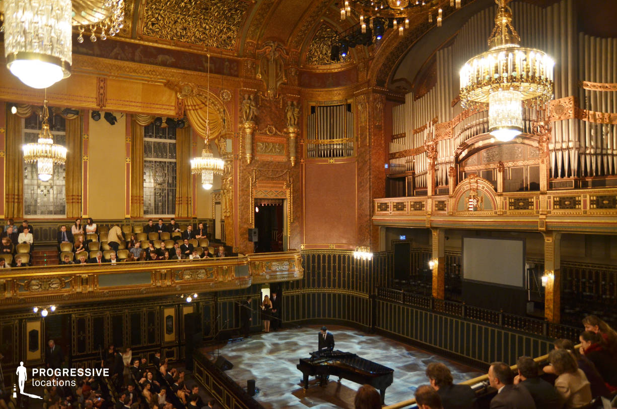 Locations in Hungary: Stage, Liszt Academy Of Music