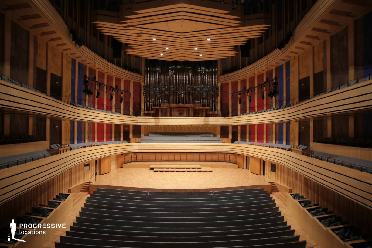Locations in Hungary: Modern Concert Hall %26 Stage, National Concert Hall