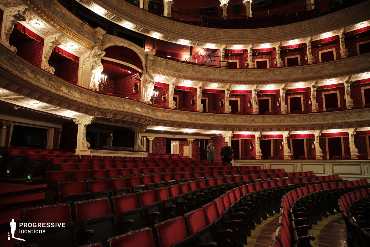 Locations in Hungary: Auditorium, National Theater