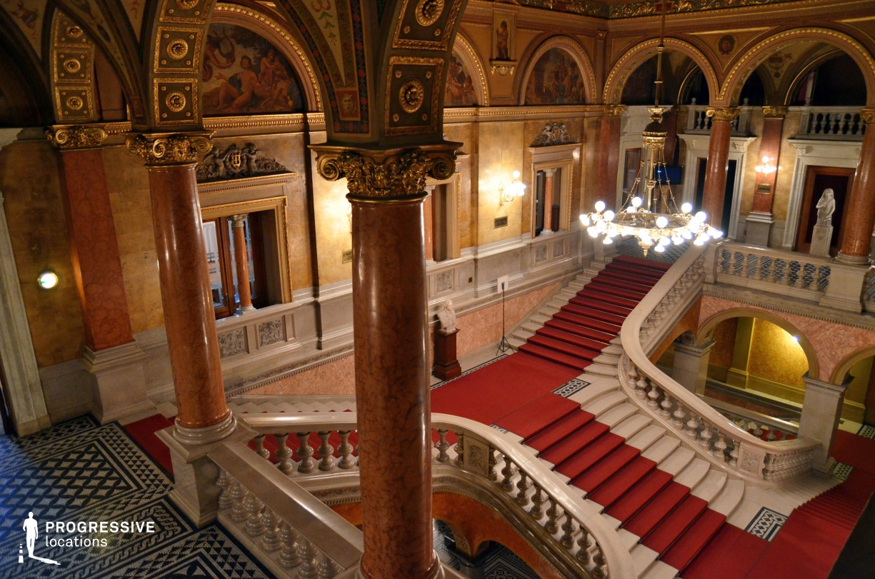 Locations in Hungary: Main Staircase, Opera House