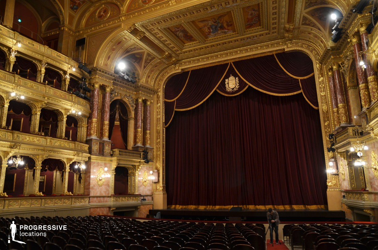 Locations in Hungary: Stage, Opera House