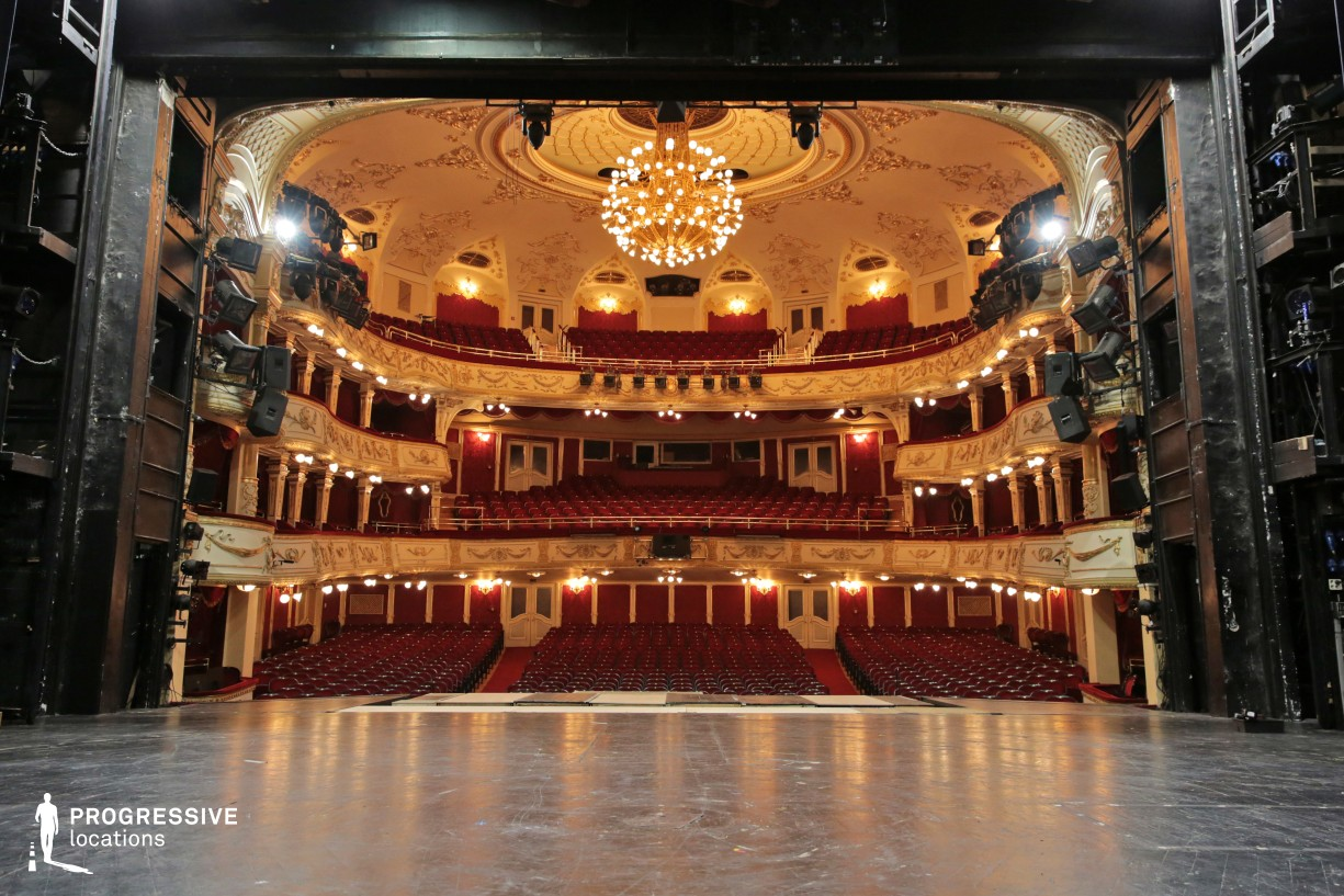 Locations in Hungary: Stage, Vig Theater