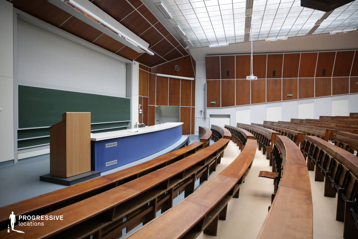 Locations in Hungary: Auditorium Maximum, University Of Technology